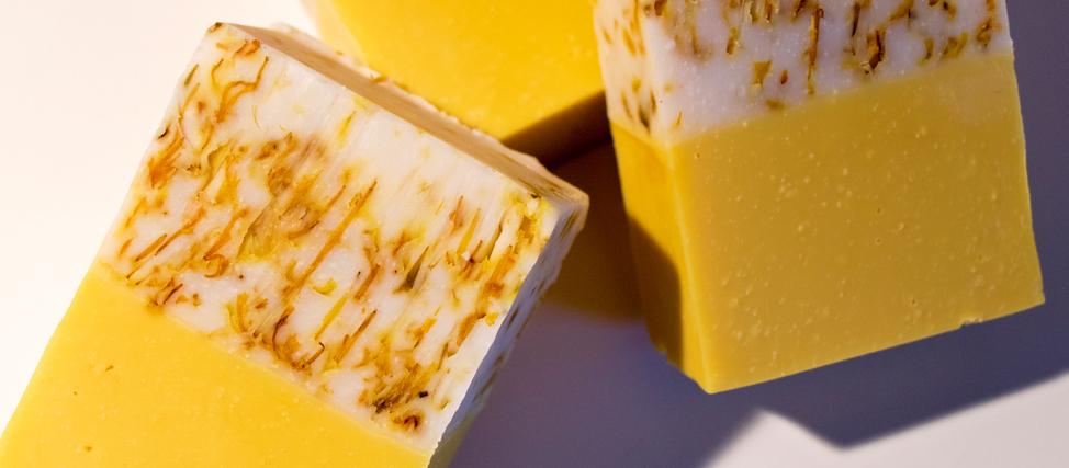 Making & Cutting Sunshine Cold Process Soap