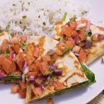Vegetarian Quesadillas