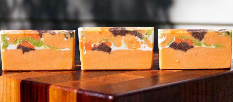 SOAP SEIZE! Pumpkin Pecan Waffle Soap