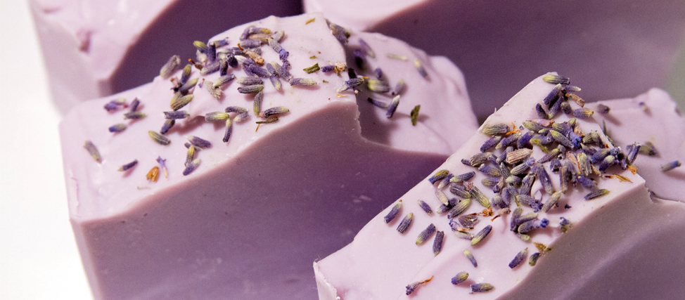 Making and Cutting Relaxing Lavender Cold Process Soap