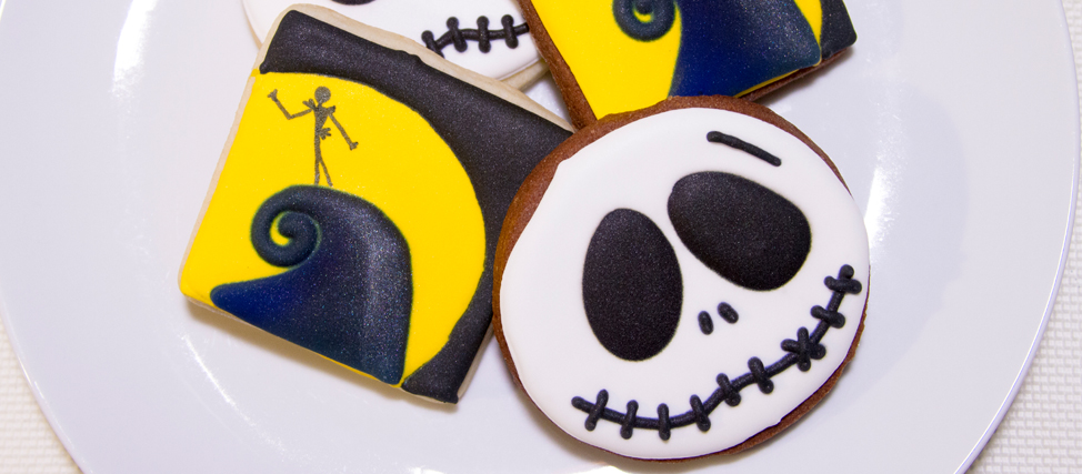 Making Jack Skellington Cookies