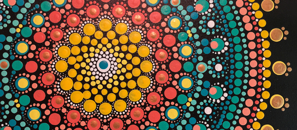 Dot Mandala Painting